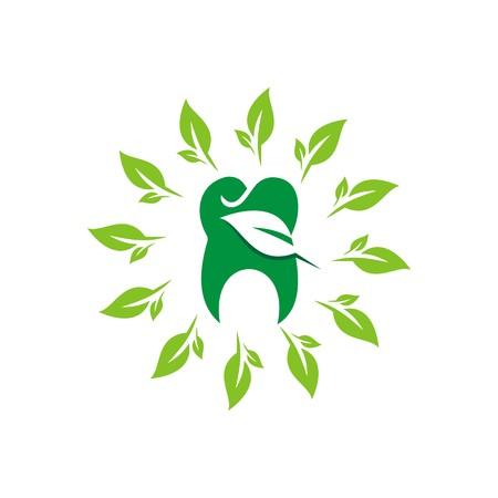 dental health: Logo natural dental icon medicine health