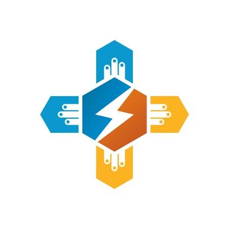 electricity pylon: design icon power electric design