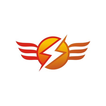 electricity pylon: Electricity Power Icon Design Symbol Abstract