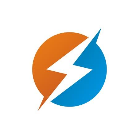volt: circle electric logo power volt Illustration
