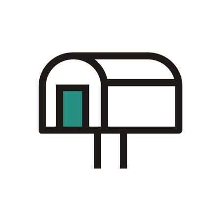 mailbox: Logo mailbox address newsletter