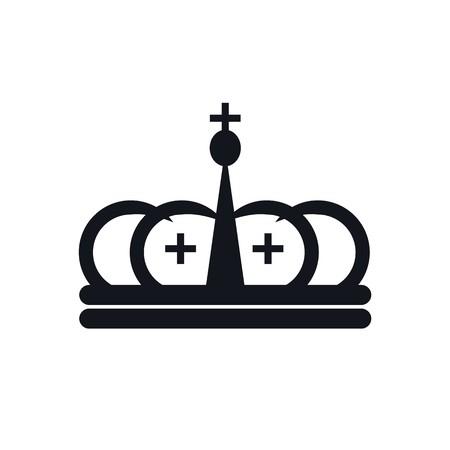 coronal: Design logo crown coronal majestic kingdom design