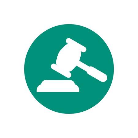 Law firm design Stock Illustratie