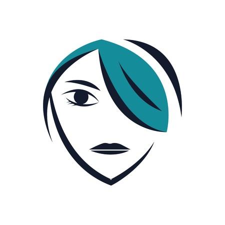 Salon and spa icon 矢量图像