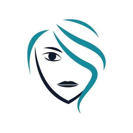 Salon and spa icon Illustration