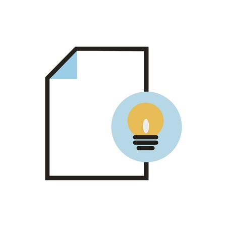 Stationery vector icon Illustration