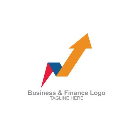 Business and finance logo Logo
