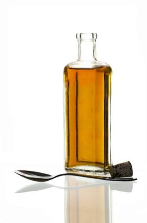 Nasty medicine: vintage medicine bottle