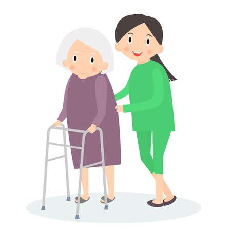 移動支援、高齢者のお手入れ。高齢者ケアします。