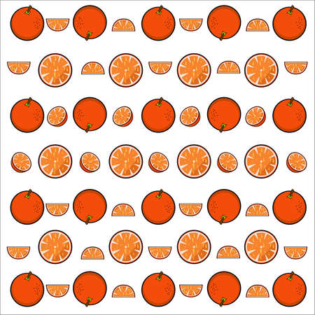 orange pattern: Orange Pattern Illustration