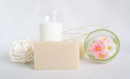 milk soap photo