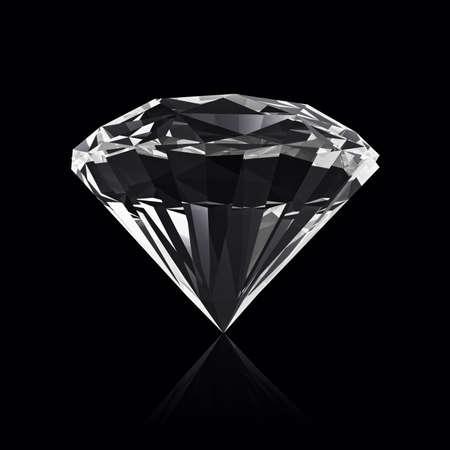 shiny black: Diamond