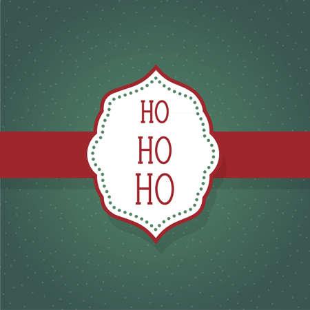ho: Ho ho ho Illustration