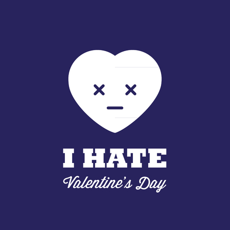 contradiction: I hate Valentine