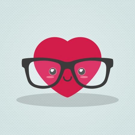 Nerdy heart