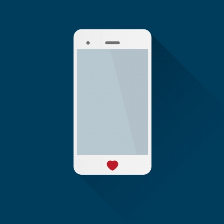 cell phone: Smartphone love