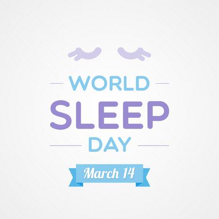 World Sleep Day Illustration