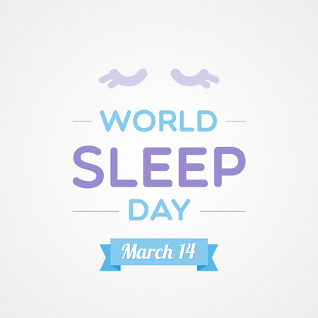 in somnolence: World Sleep Day Illustration