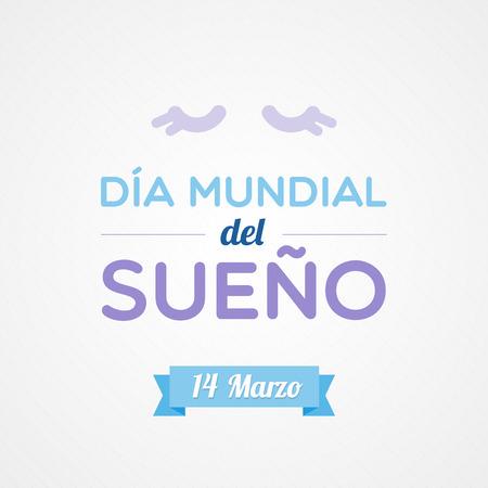World Sleep Day in Spanish