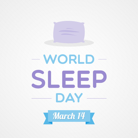 somnolence: World Sleep Day Illustration