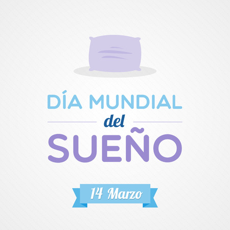 sleepiness: World Sleep Day in Spanish
