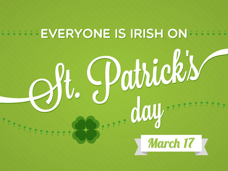 St  Patrick Day s Day Vector