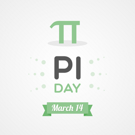 Pi day Vector