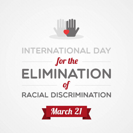 racial: International Day for the Elimination of Racial Discrimination Illustration