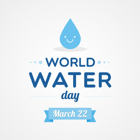 water conservation: World Water Day Illustration