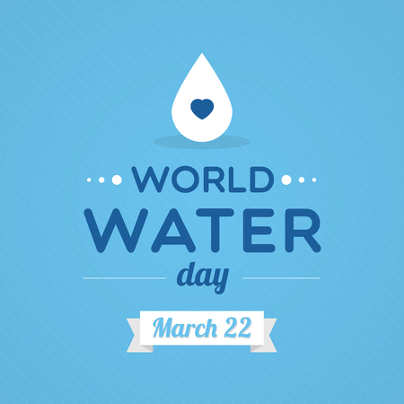 World Water Day Vectores