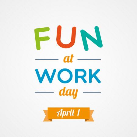 jornada de trabajo: Diversión en el Día del Trabajo Vectores