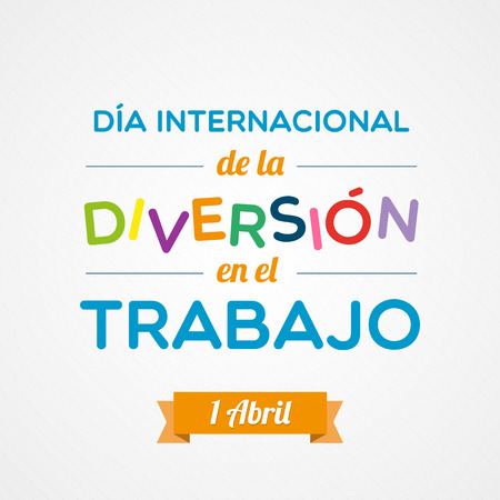 diversion: Fun at Work Day in Spanish