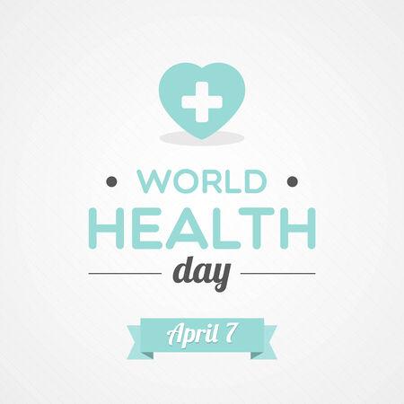 health awareness: World Health Day Illustration