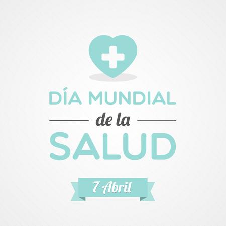 World Health Day in Spanish Illustration