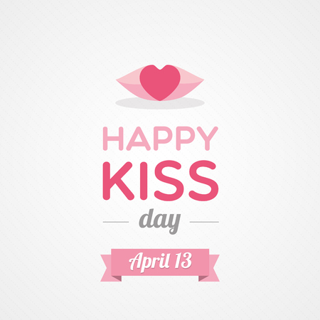 lips kiss: Happy Kiss Day