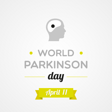 paralysis: World Parkinson Day Illustration