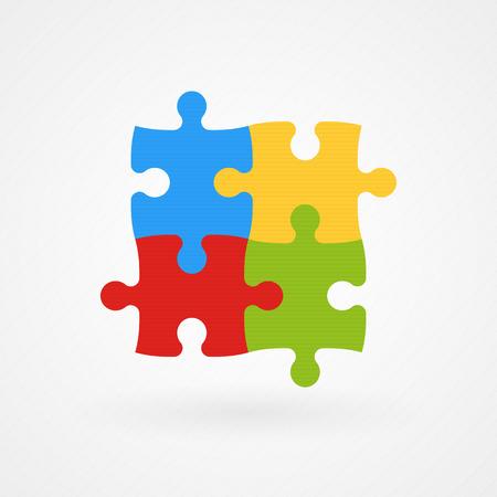 퍼즐 자폐증 인식