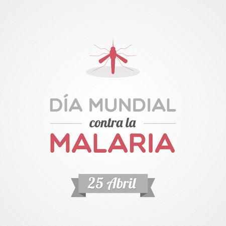 anopheles: World Malaria Day in Spanish