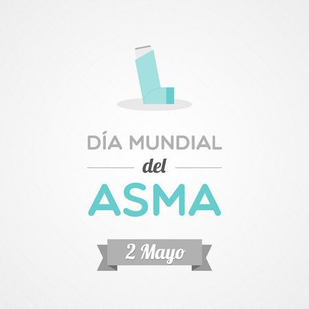 bronchial asthma: World Asthma Day in Spanish