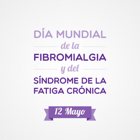 malaise: Fibromyalgia and Chronic Fatigue Syndrome Awareness Day in Spanish
