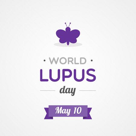World Lupus Day  イラスト・ベクター素材