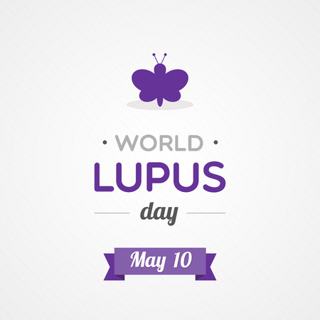 erythematosus: World Lupus Day Illustration