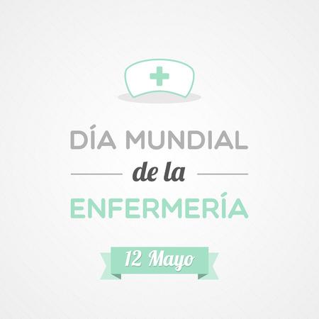 nursing uniforms: Enfermeras D�a Internacional en Espa�ol