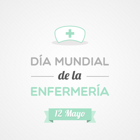 a hat: International Nurses Day in Spanish