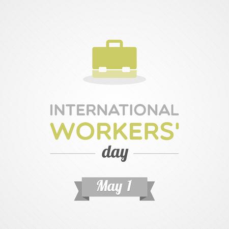 International Workers  Day Vettoriali