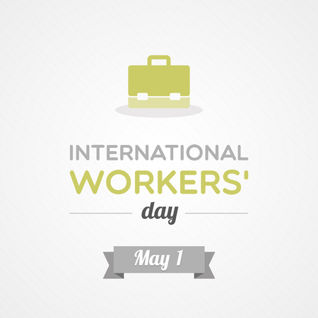 International Workers  Day 矢量图像