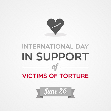 International Day in Support of Victims of Torture Illustration