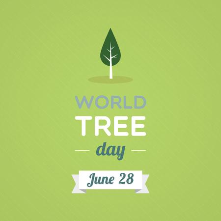 World Tree Day Vector