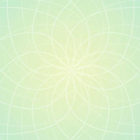 centric: Soft geometric background Illustration