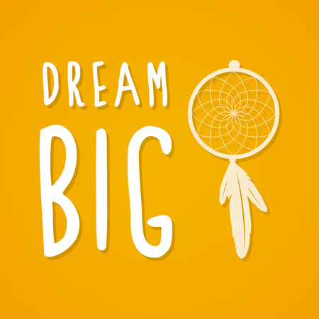 mustard: Dream big and mustard background